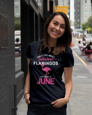 Are Born In JUNE Ladies T-Shirt lifestyle-women-crewneck-front-5