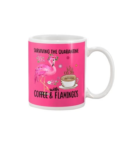 Love Coffee and Flamingos