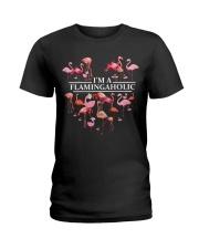 I-Am-Flamingo Ladies T-Shirt front
