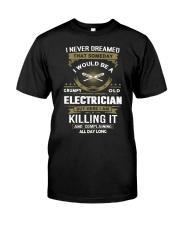 Proud Electrician Shirt Classic T-Shirt front