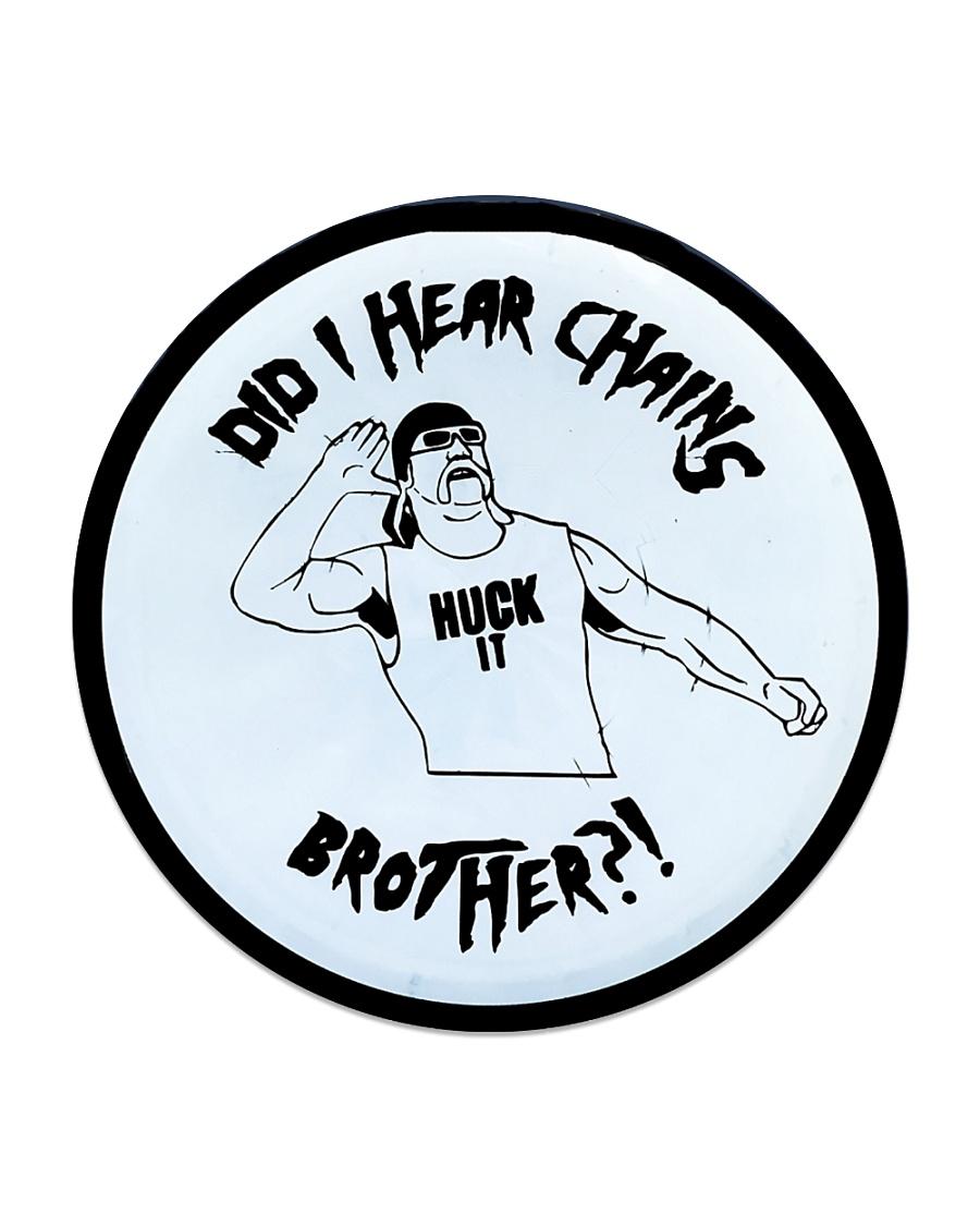 DID I HEAR CHAINS Circle Coaster