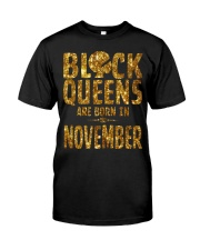 Black Queens Are Born in November Premium Fit Mens Tee thumbnail