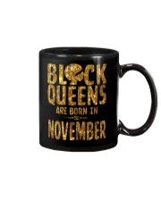 Black Queens Are Born in November Mug thumbnail