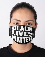 Black Lives Matter Cloth face mask aos-face-mask-lifestyle-01