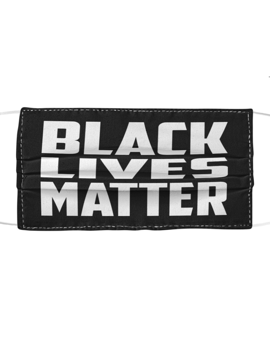 Black Lives Matter Cloth face mask