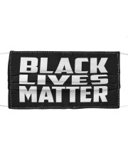 Black Lives Matter Cloth face mask front