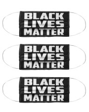 Black Lives Matter Cloth Face Mask - 3 Pack thumbnail