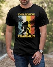 Bigfoot Social Distancing Champion Classic T-Shirt apparel-classic-tshirt-lifestyle-front-53