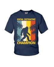 Bigfoot Social Distancing Champion Youth T-Shirt thumbnail