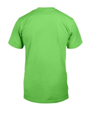 Pink and Green Black Lives Matter Classic T-Shirt back