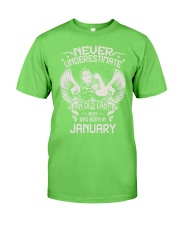 JANUARY Classic T-Shirt front