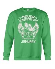 JANUARY Crewneck Sweatshirt front