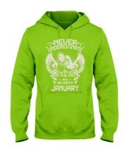 JANUARY Hooded Sweatshirt front