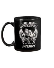 JANUARY Mug back
