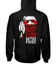 Native Pride Hooded Sweatshirt back