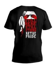 Native Pride V-Neck T-Shirt thumbnail