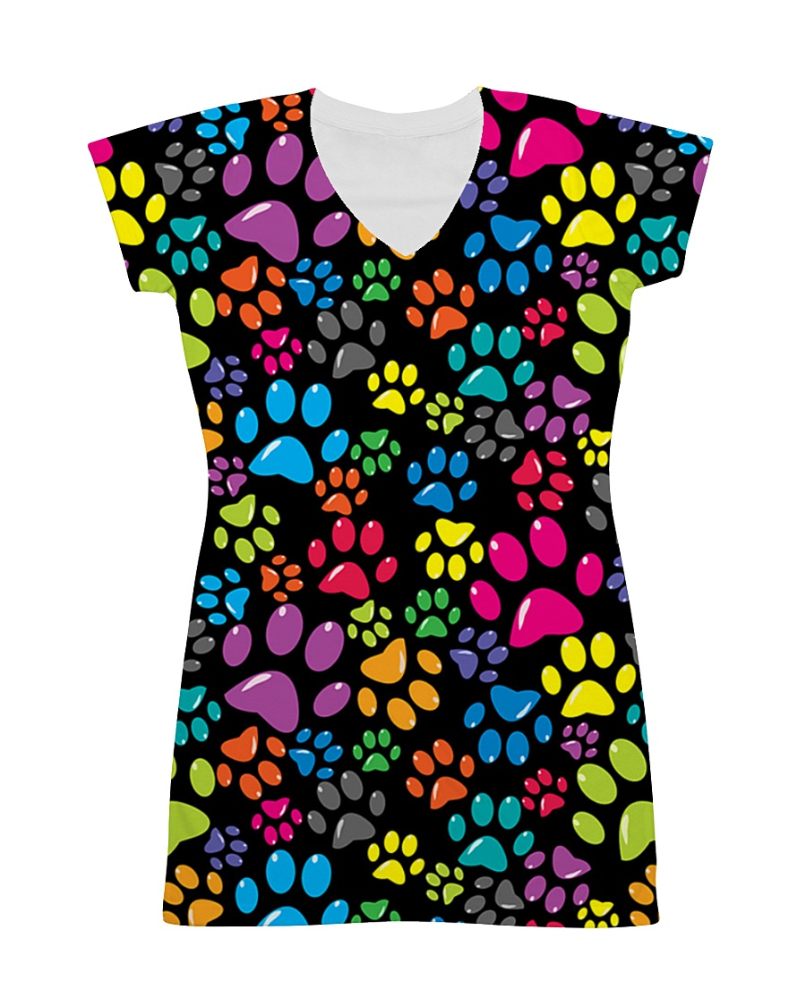 I Love My Dog All-over Dress