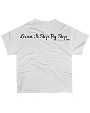 Learn It Step by Step Merch  All-over T-Shirt back