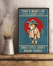 That is what i do i fish 11x17 Poster lifestyle-poster-3