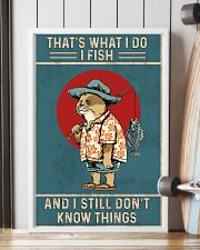 That is what i do i fish 11x17 Poster lifestyle-poster-4
