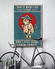 That is what i do i fish 11x17 Poster lifestyle-poster-7