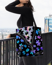 Autism  All-Over Tote All-over Tote aos-all-over-tote-lifestyle-front-05