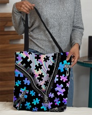 Autism  All-Over Tote All-over Tote aos-all-over-tote-lifestyle-front-10