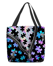 Autism  All-Over Tote All-over Tote back