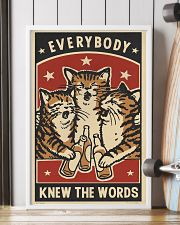 Every body knew the worrds 11x17 Poster lifestyle-poster-4