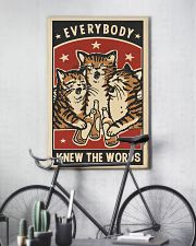 Every body knew the worrds 11x17 Poster lifestyle-poster-7