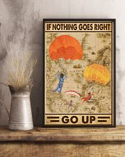 If nothing goes right go up 11x17 Poster lifestyle-poster-3