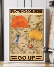 If nothing goes right go up 11x17 Poster lifestyle-poster-4