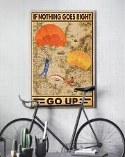 If nothing goes right go up 11x17 Poster lifestyle-poster-7