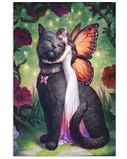 Black cat love 11x17 Poster front