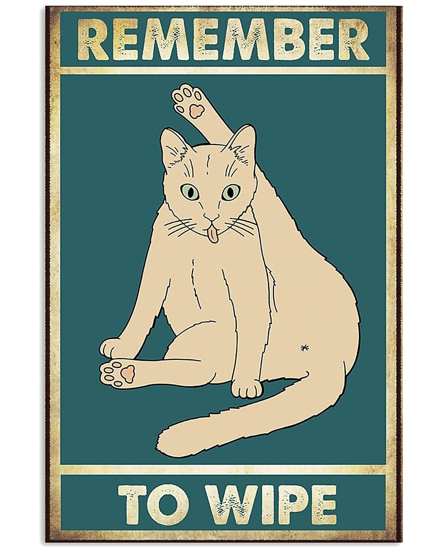 Remember to wipe 11x17 Poster