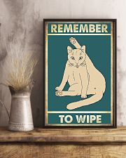 Remember to wipe 11x17 Poster lifestyle-poster-3
