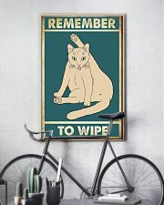 Remember to wipe 11x17 Poster lifestyle-poster-7
