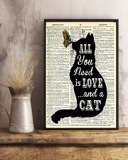 ALL YOU NEED IS LOVE CAT 11x17 Poster lifestyle-poster-3
