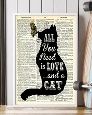 ALL YOU NEED IS LOVE CAT 11x17 Poster lifestyle-poster-4