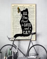 ALL YOU NEED IS LOVE CAT 11x17 Poster lifestyle-poster-7