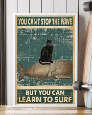 you cant not stop the wave 11x17 Poster lifestyle-poster-4