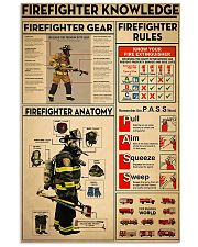 Firefighter Knowledge 2 11x17 Poster front
