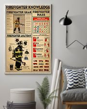 Firefighter Knowledge 2 11x17 Poster lifestyle-poster-1