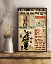 Firefighter Knowledge 2 11x17 Poster lifestyle-poster-3