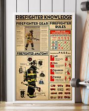 Firefighter Knowledge 2 11x17 Poster lifestyle-poster-4