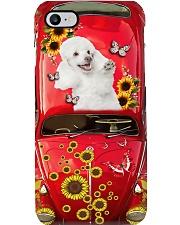 Phone Case - Poodle Sunflower Phone Case i-phone-7-case