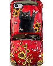 Phone Case - Cat Sunflower Phone Case i-phone-7-case
