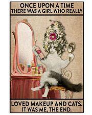 cat makeup 11x17 Poster front