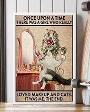 cat makeup 11x17 Poster lifestyle-poster-4