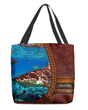 Grandma shark All-Over Tote All-over Tote back